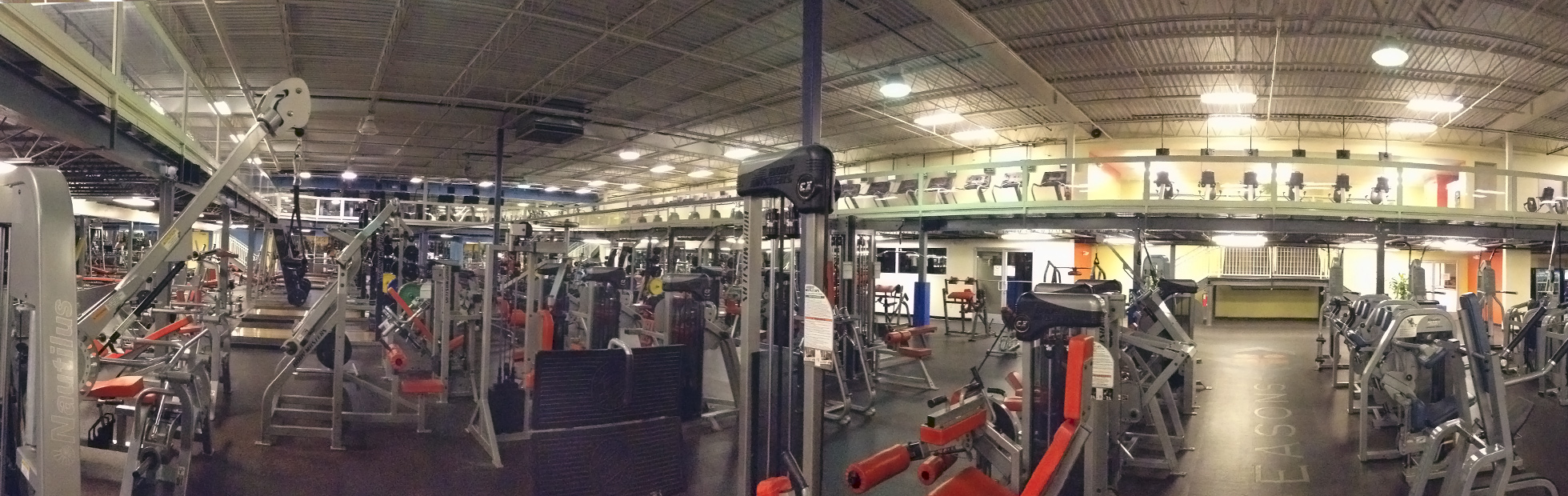 LARGEST WORKOUT ROOMS IN NEW JERSEY!