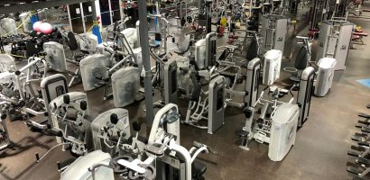 image of some of the new Nautilus equipment installed just installed at Four Seasons Fitness
