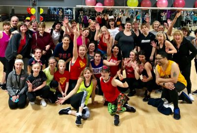 Group Shot From Zumba For SPARC Event