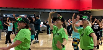 image of the ZSPOT Zumba Class at Four Seasons Fitness